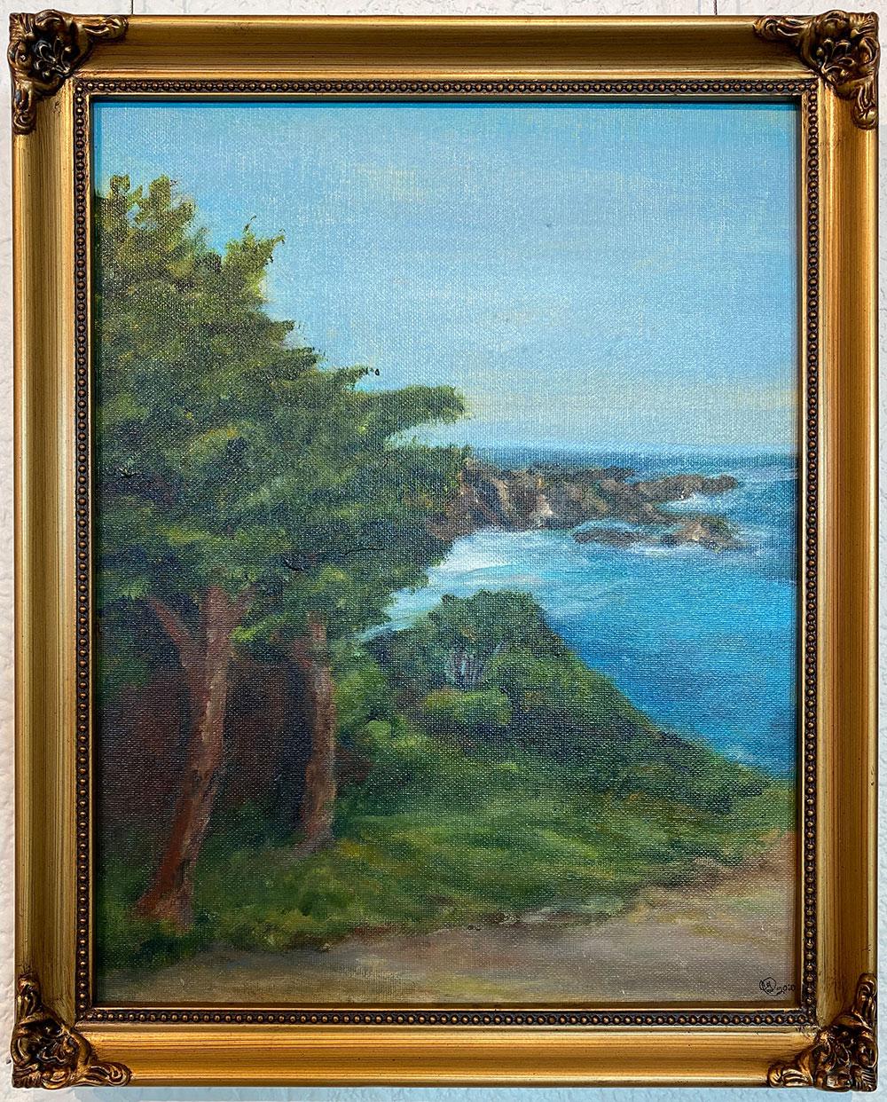 """""""Windblown"""" 10.5""""X13.5"""" Acrylic by Cindy Green: $120"""