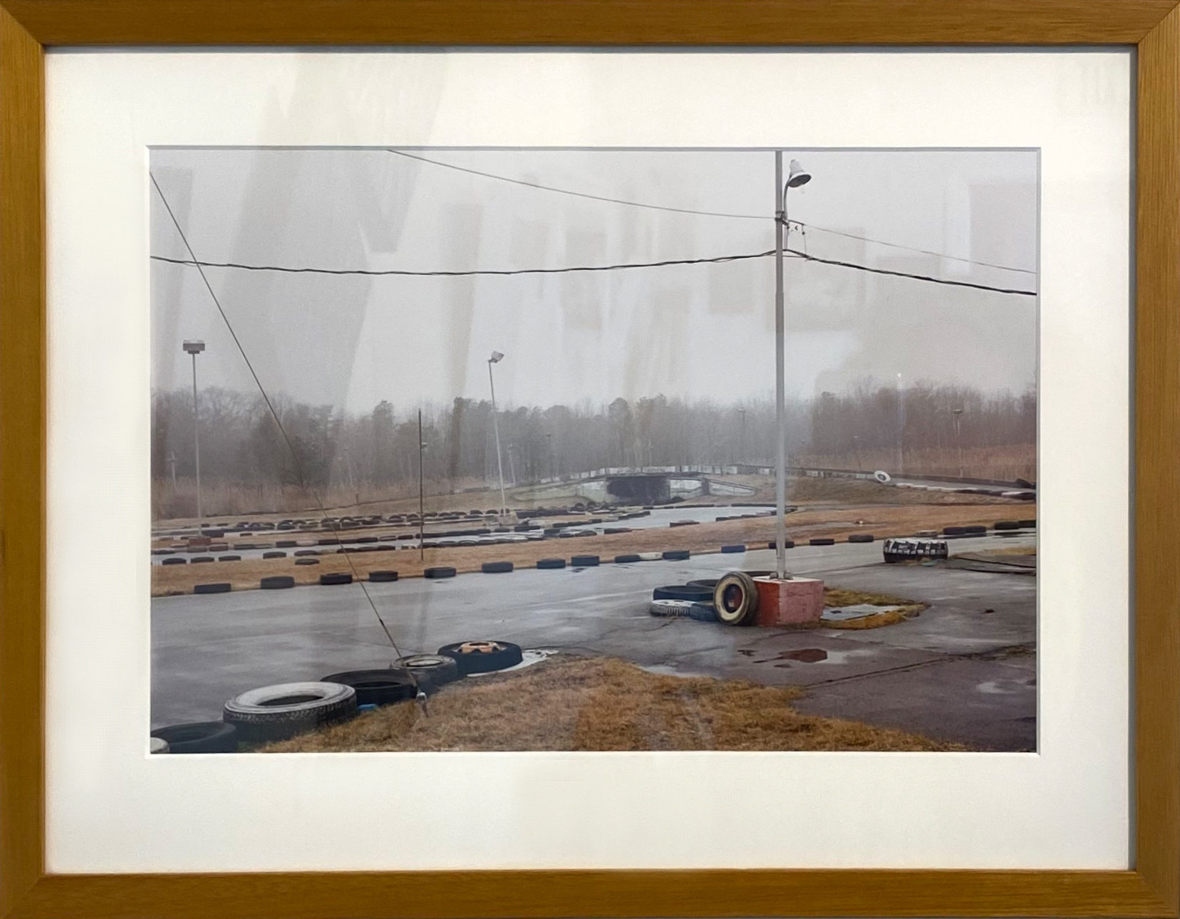 """Salisbury Beach, MA"" Framed 9.75""X14.75"" archival Pigment Print by Larry Mills: $375"