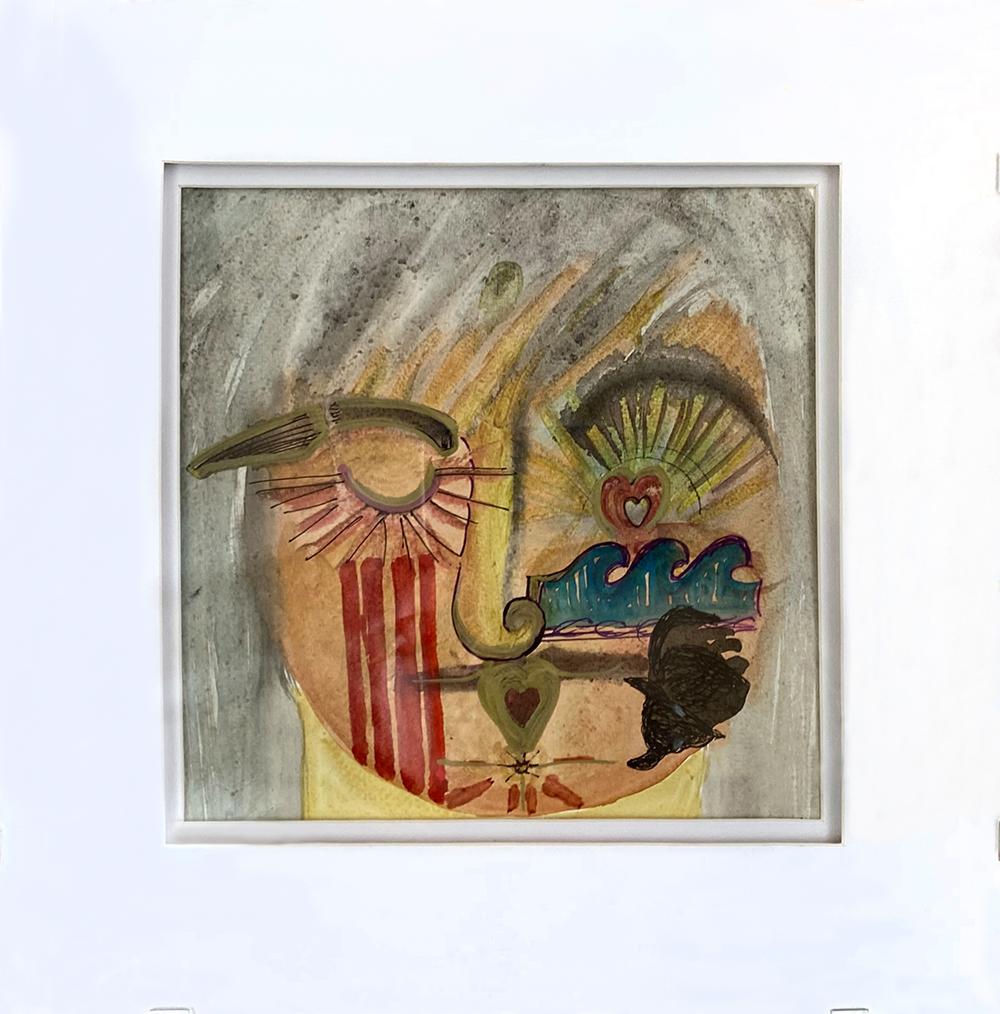"""Hopi Rainforest Ambassador"" Watercolor by Venessa Kay"