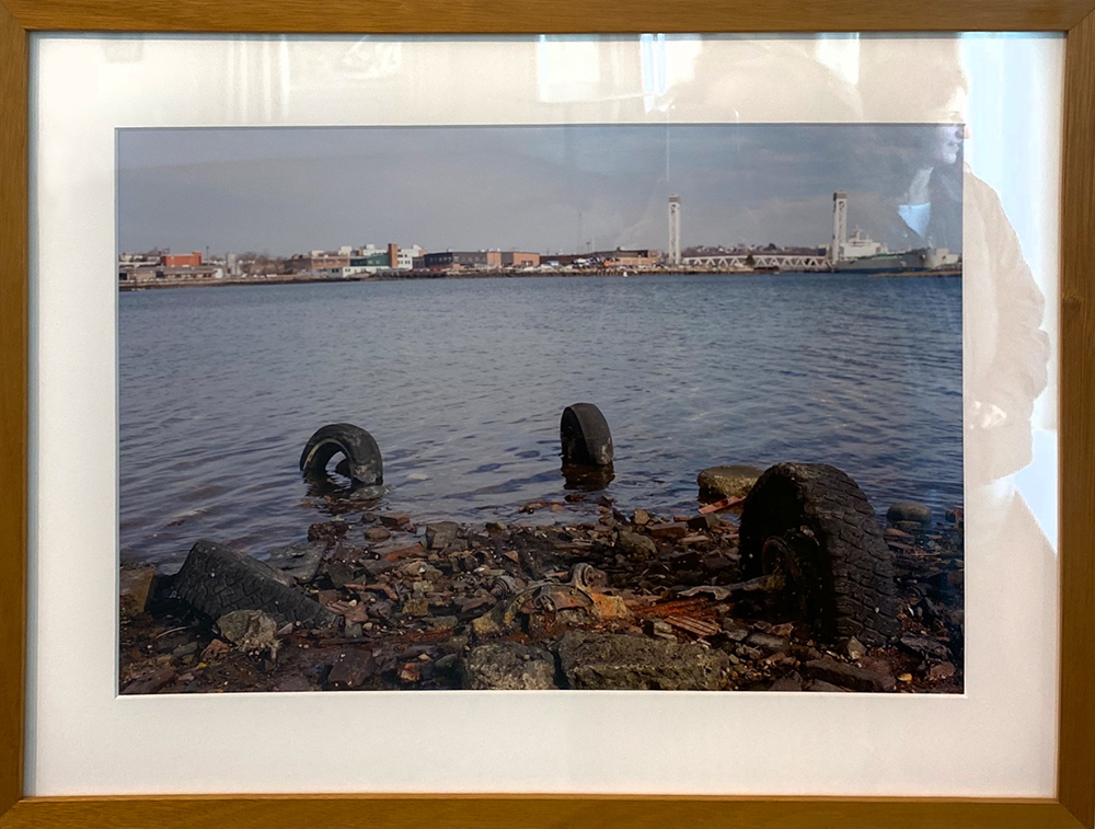 """East Boston, MA"" Framed 17.75""X11.75"" Archival Pigment Print by Larry Mills framed: $375"